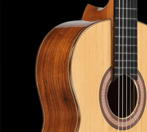 custom built classical guitars
