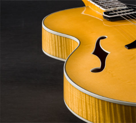 custom built archtop guitars from Theo Scharpach