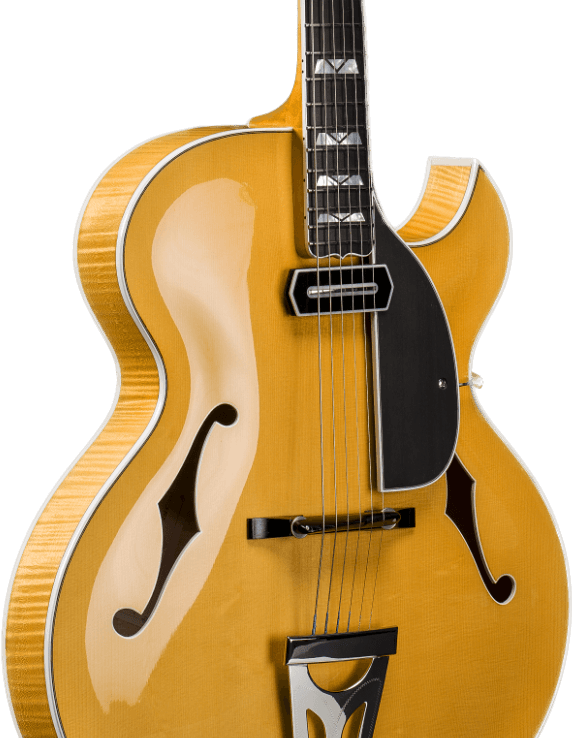 custom made Archtop guitar from Scharpach