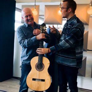 Martin van Hees and Theo Scharpach