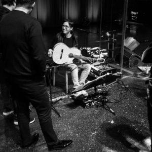Al di Meola plays his Scharpach flamenco guitar