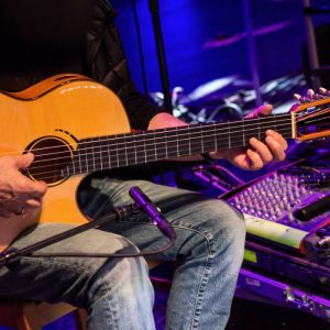 Al di Meola plays his Scharpach flamenco guitar La Porta