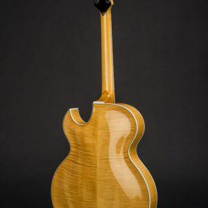 Scharpach Archtop Guitar OpusG back