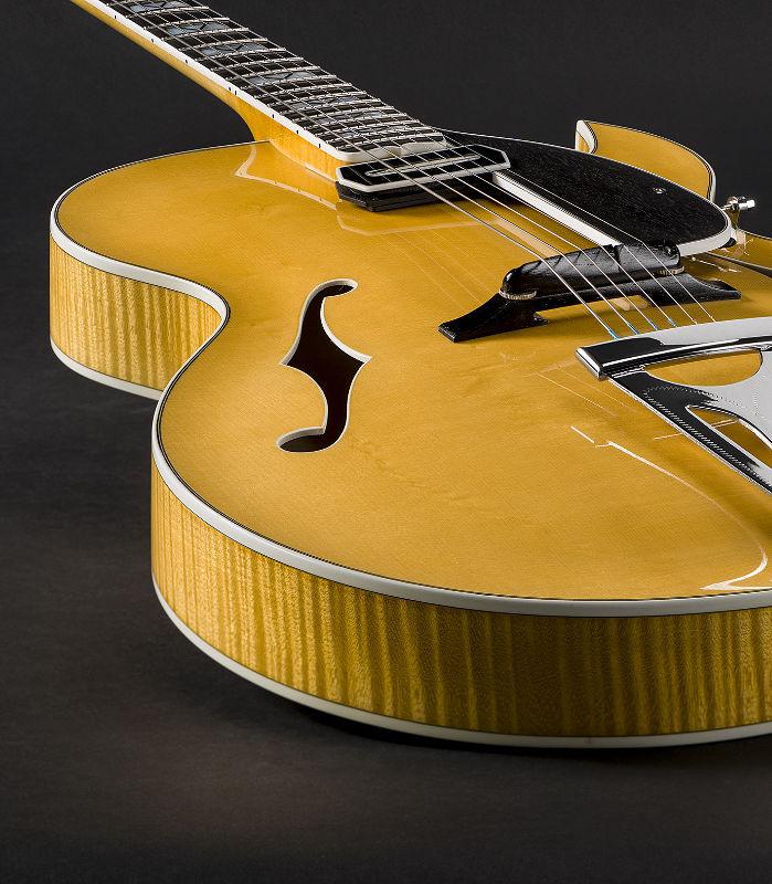 OpusG Archtop Guitar, custom built by Theo Scharpach
