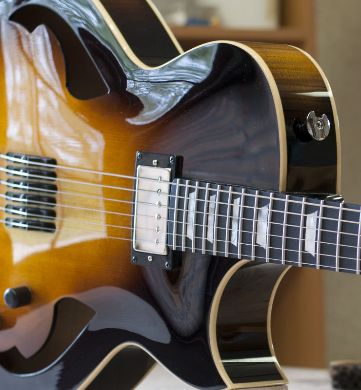 custom made acoustic guitar ViennaJOE archtop by Scharpach