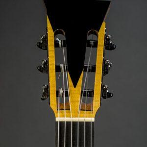 Detail of custom made flamenco guitar 1912 by Scharpach