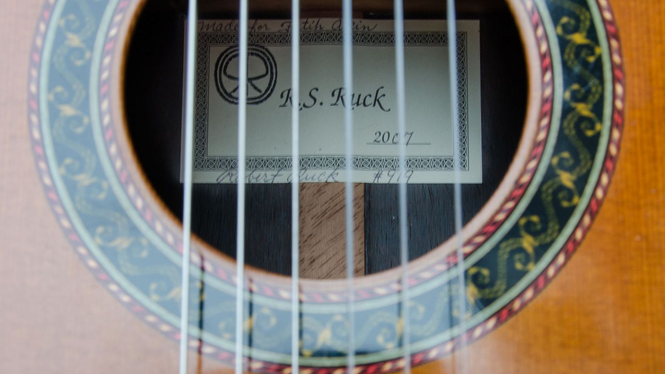 Old Master for Sate: Robert Ruck guitar from 2007