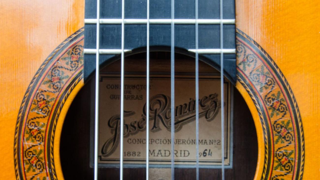 Ramirez old master guitar 1964