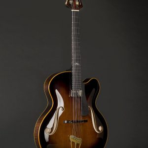 Frontside of Vienna Archtop Guitar