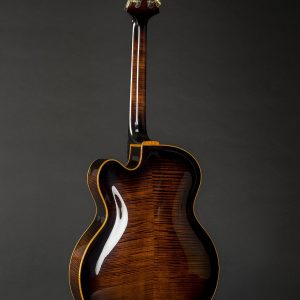 Backside of Vienna Archtop Guitar